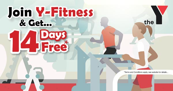 Join Y-Fitness with 14 Days Free