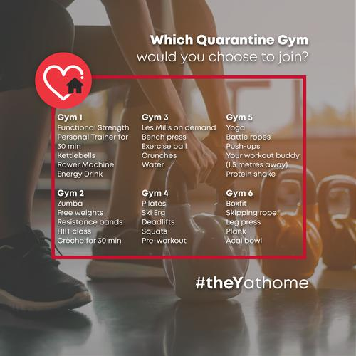 Pick Your Quarantine Gym