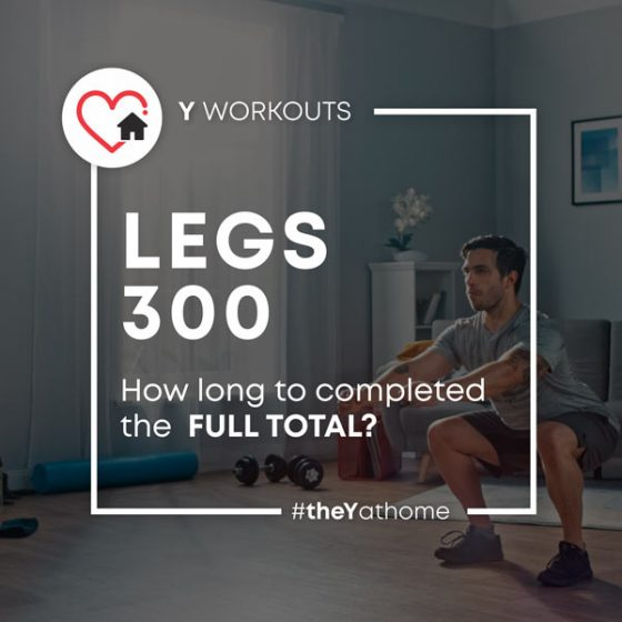 Challenge of the Week: Legs 300