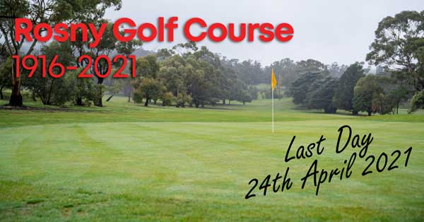 Rosny Golf Closing