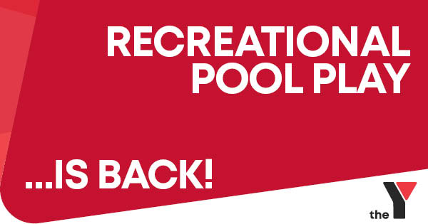 Recreational Pool Play – Now available weekends