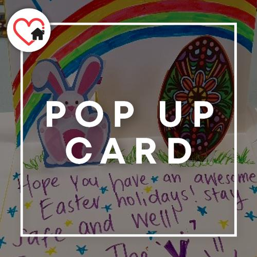 How to make a pop up card!