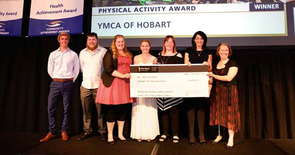 YMCA wins Get Moving Tasmania Physical Activity Award 2018